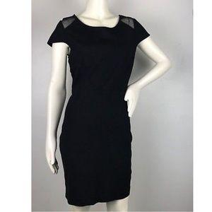 BB Dakota Black Mesh Dress